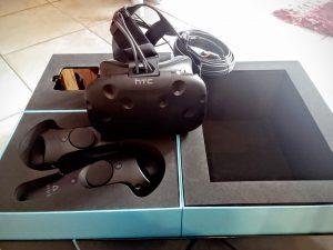 Nerdweib: Unboxing HTC Vive VR-Brille Verpackung 3