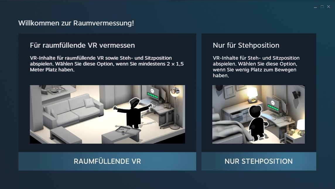 Nerdweib: Konfigurieren HTC Vive VR-Brille setup2