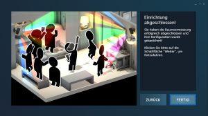 Nerdweib: Konfigurieren HTC Vive VR-Brille setup9