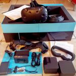 Nerdweib: Unboxing HTC Vive VR-Brille Verpackung 4