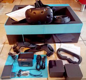 Nerdweib: Unboxing HTC Vive VR-Brille Verpackung 4