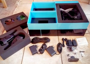 Nerdweib: Unboxing HTC Vive VR-Brille Verpackung 5