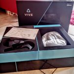 Nerdweib: Unboxing HTC Vive VR-Brille Verpackung