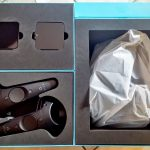 Nerdweib: Unboxing HTC Vive VR-Brille Verpackung 2