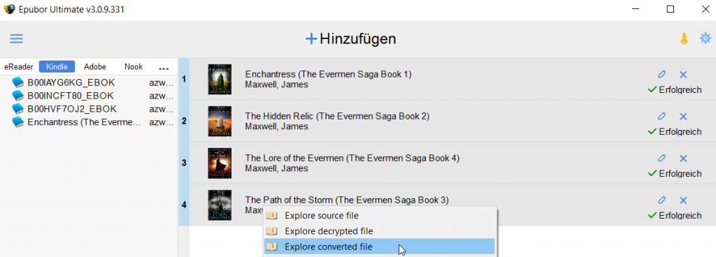 Nerdweib:: amazon ebooks auf dem Tolino lesen Step 5