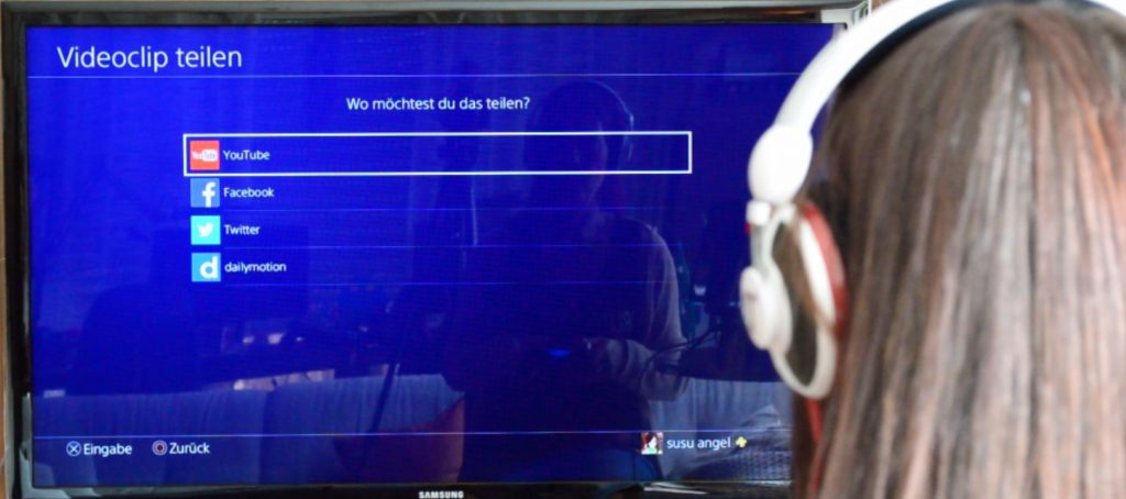 nerdweib-ps4-aufnahme-letsplay-auswahl-portal-hochladen