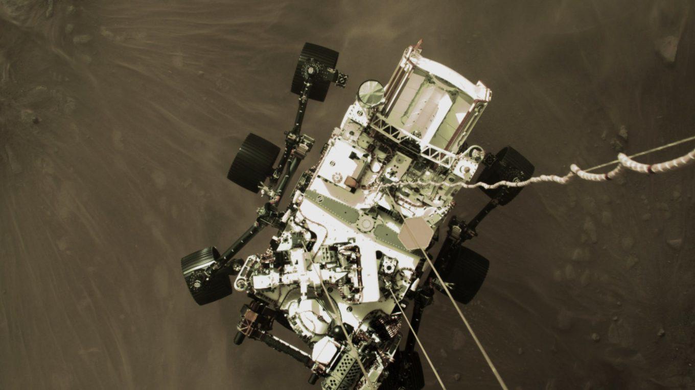 Mars Rover Landung Februar 2021